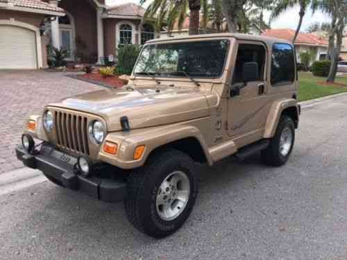 Jeep Wrangler Sahara TJ 4.0 4x4 (2000)