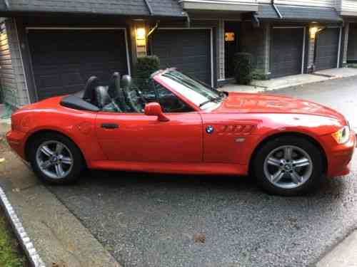 Bmw Z3 2 5i 2001 M Coupe Convertible This Is My