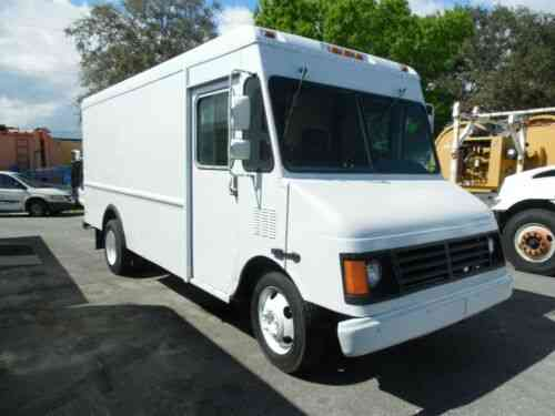 P42 Workhorse (2002) Chevy P42 Workhorse Step Van All Aluminum: Vans