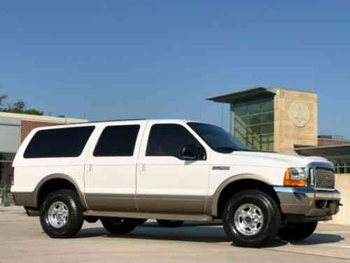 Ford Excursion Limited 7 3l Turbo Diesel 73k Miles 1 Owner Used Classic Cars