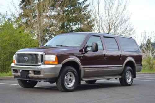 Ford Excursion Limited 7 3l Diesel 4x4 130k Miles 2001