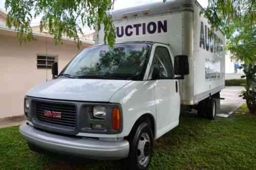 gmc savana 2001 2001 gmc savana g 3500 box truck vin vans suvs and trucks cars 2001 gmc savana g 3500 box truck vin