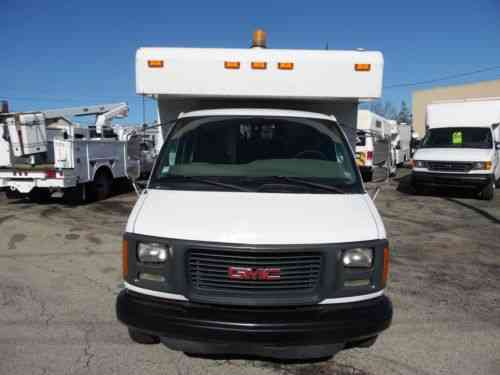 gmc savana 3500 splicing lineman fiber optic truck 2001 vans suvs and trucks cars gmc savana 3500 splicing lineman fiber