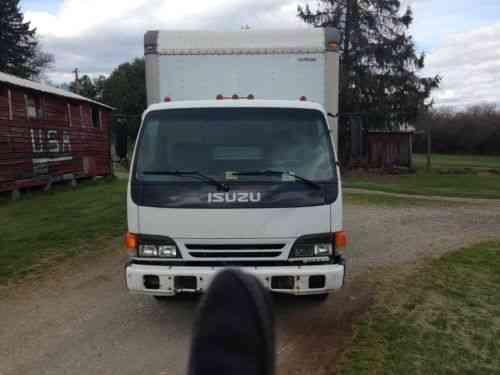 Isuzu Npr Box Truck (2001) Isuzu Npr 14ft Box Truck 4 8l Turbo: Vans, SUVs,  And Trucks Cars