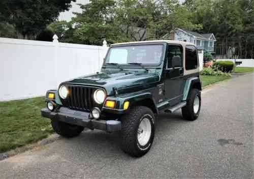 Jeep Wrangler Sahara TJ (2001)