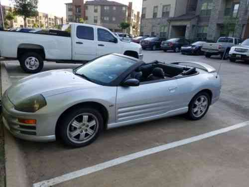 2001 Mitsubishi Eclipse Spyder >> Mitsubishi Eclipse Spyder Gt 2001 Hello Everyone Reduced
