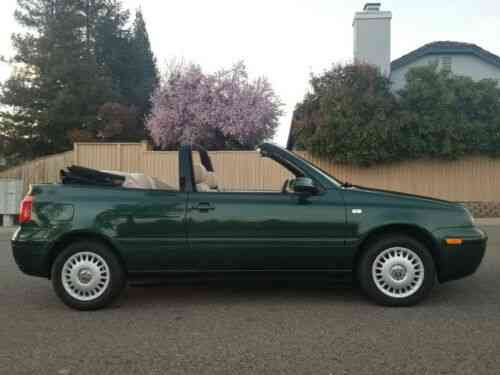 volkswagen cabrio 2001 i am selling a mint like new showroom used classic cars volkswagen cabrio 2001 i am selling a