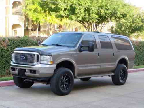 Ford Excursion 7 3l Diesel 4x4 Limited 2owner Low Miles 3rd Used Classic Cars