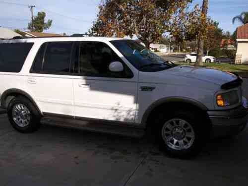 ford expedition suv white rwd automatic eddie bauer 2002 used classic cars ford expedition suv white rwd automatic