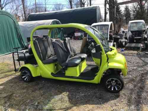 2002 Gem Car Golf Cart New Batteries 2year Free: Vans, SUVs, and ...
