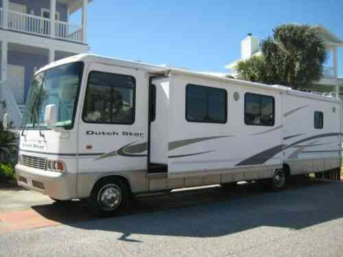 Newmar Dutch Star RV Class A Motorhome 36 FT 2 Slides Clear Title Sleeps 6  (2002)