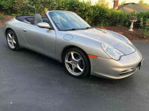 Porsche 911 Carrera Convertible Manual Trans No Reserve Used Classic Cars