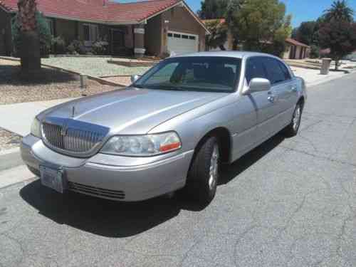 Lincoln Town Car Cartier L 2003 If You Are Seriously Used Classic