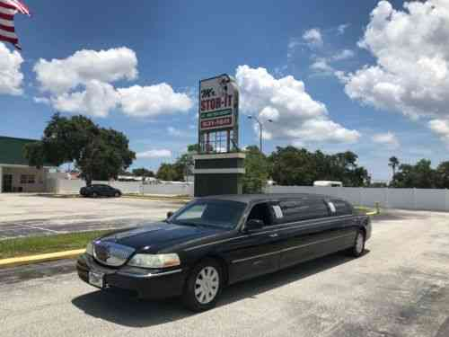 Lincoln Town Car V8 2003 Lincoln Towncar Limousine Super Used