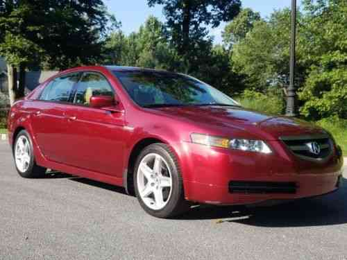 Acura Tl Speed Manual Very Rare Redondo Red Pearl Used - Acura tl 6 speed for sale