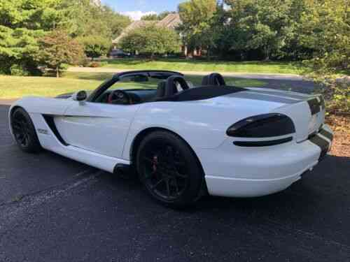Dodge Viper Tires >> Dodge Viper Srt10 Convertible Roadster New Tires Supercharged 1 Owner Mint 2004