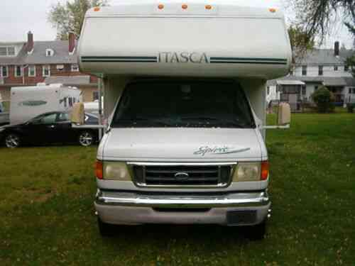 FORD WINNEBAGO CLASS C 29 FOOT RV MOTORHOME CAMPER LOADED 41K MILES SAVE  (2004)