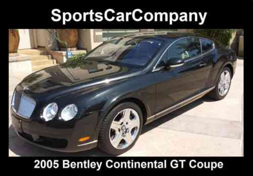 bentley continental gt gt coupe 2 door 2005 ebizautos. Black Bedroom Furniture Sets. Home Design Ideas