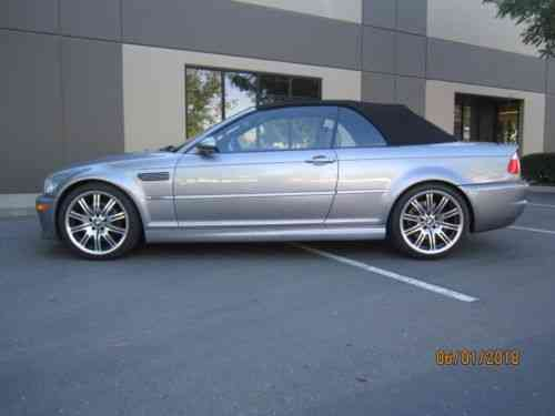 Bmw M3 Convertible 2005 What We Are Offering Here Is A Used Clic Cars
