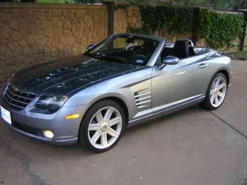Chrysler Crossfire Limited Roadster Convertible Outstanding Used Classic Cars