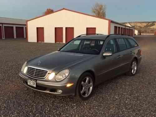 Mercedes benz e class e500 4matic wagon 2005 for sale for Mercedes benz e class wagon for sale