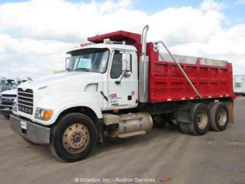 Mack Cv713 Granite T A Dump Truck 15 Body 10 Speed Air Ride Vans