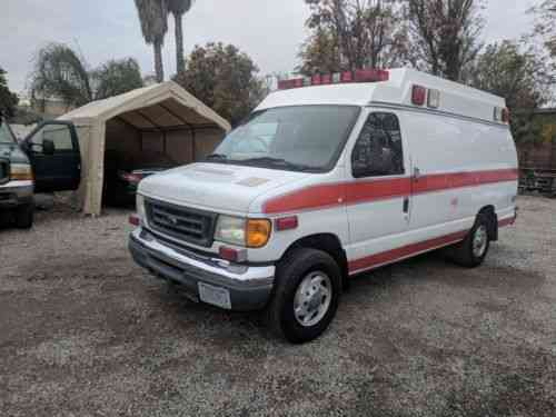 Ford E350 (2007) I Do Not Have A Lot Of Information On This