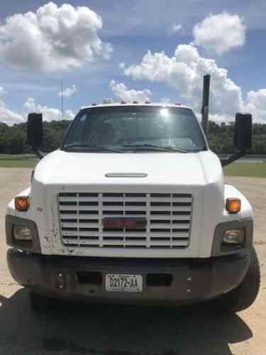 Gmc Rollback Flatbed C7500 Kodiak Wrecker Aqua Color No: Vans, SUVs