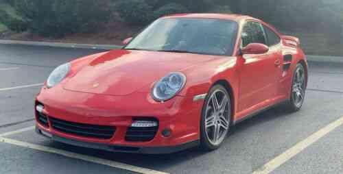 Porsche 911 Turbo Guards Reddark Grey 144k Msrp Window