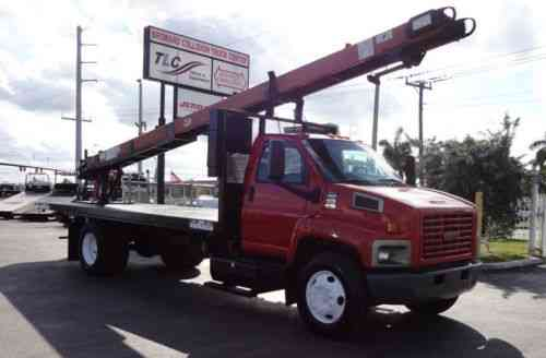 Gmc C6500 20ft Flatbed 25 Cleasby Hdrth 6000 Vans