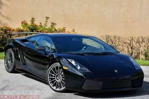 Lamborghini Gallardo Superleggera Ceramic Brakes Nav Backup Used