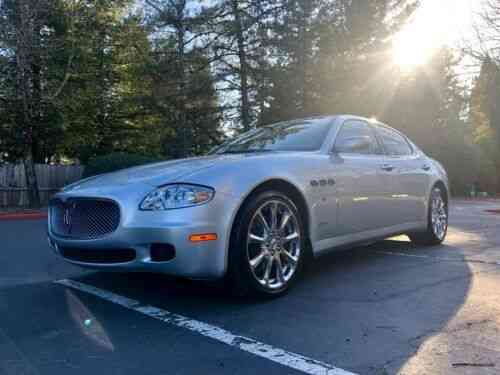 Maserati Quattroporte Executive Gt 2008 Up For Sale Is A Used