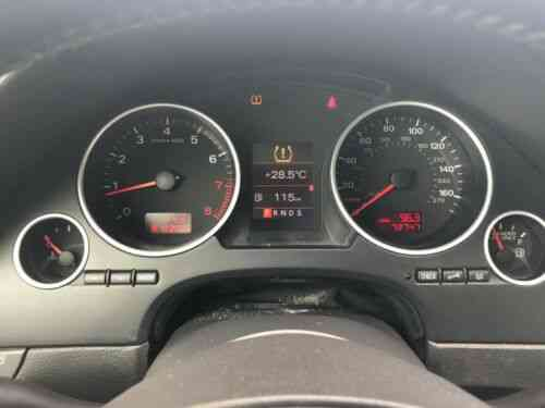 Audi A4 Convertible with LOW MILES (2009)