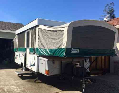 coleman utah pop up camper