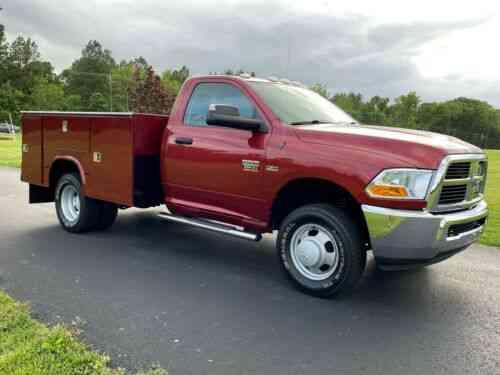 dodge ram 3500 4x4 rcab drw w t utility only 26k miles 5 7l vans suvs and trucks cars carscoms com