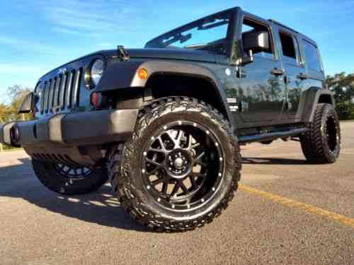 Jeep Wrangler Sport Trail Edition 2011 Lifted Army Green Used