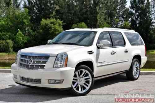 Cadillac Escalade Esv Platinum Awd Loaded Rear Entertainment