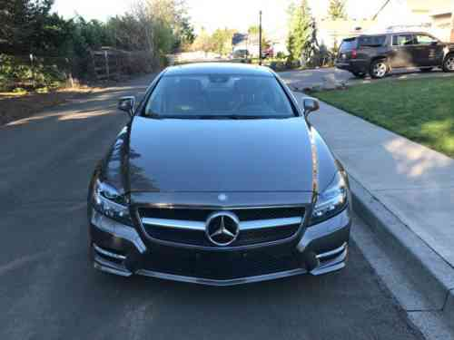 Mercedes-Benz CLS-Class CLS550 * AWD 4Matic * Twin Turbo V8 * Premium Pkg  (2012)