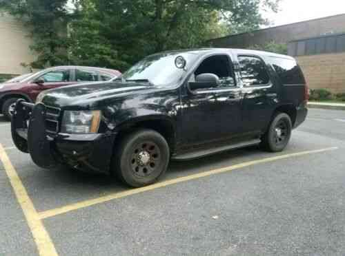 Used Police Tahoes For Sale >> Chevrolet Tahoe Police 2013