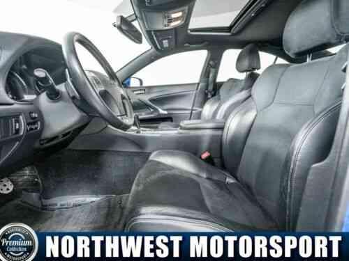 Lexus IS250 F Sport RWD 67734 Miles Blue 2 5L V6 DOHC 24V (2013)