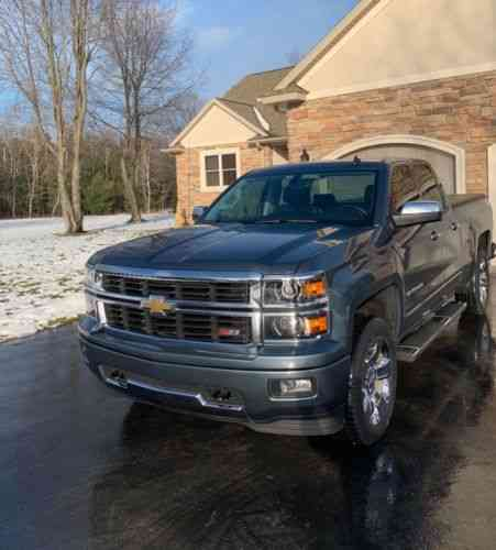 Chevrolet Silverado 1500 Ltz Z71 2014 Up For Sale Chevrolet Used