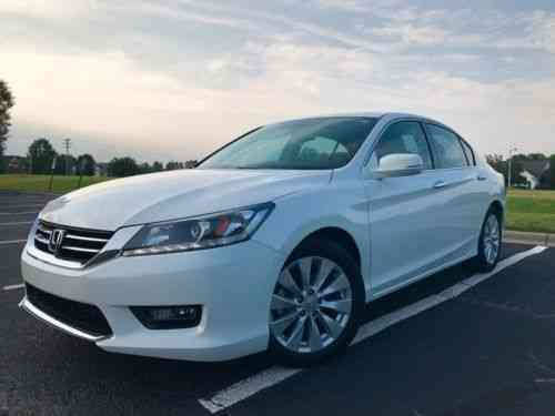 honda accord ex l 2014 honda accord ex l v6 used classic cars. Black Bedroom Furniture Sets. Home Design Ideas