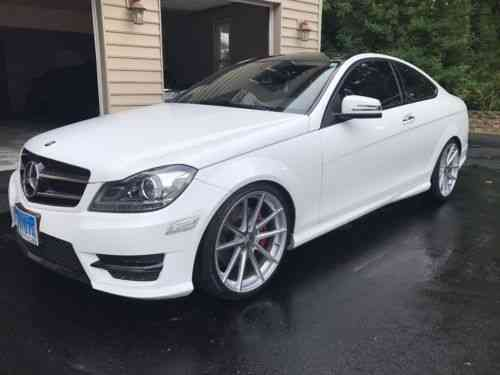 Mercedes Benz C Class C350 4matic Coupe 2014 Selling My C350