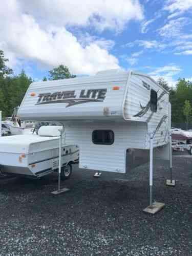 Super Lite Travel Trailers >> Travel Lite Slide In Camper 77rsl Super Lite (2014): Vans ...
