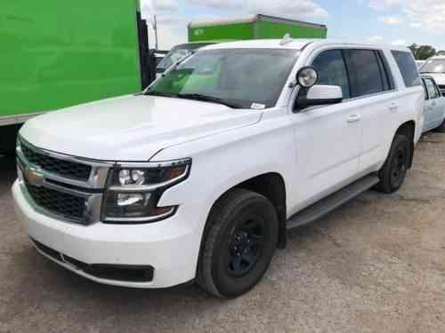 Used Police Tahoes For Sale >> Chevrolet Tahoe Police 2015