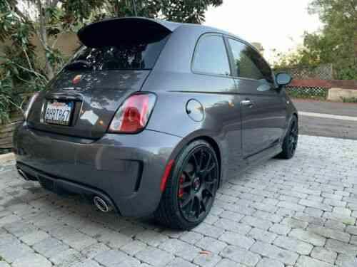 Fiat 500 Abarth 5 speed