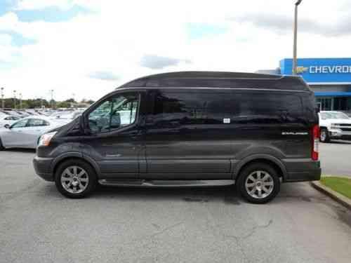 Ford Transit Conversion Van >> Ford Transit Conversion Van Explorer Limited Se 2015