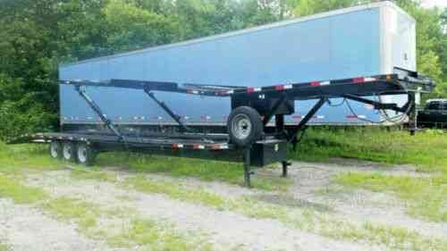 Kaufman (1999) 2 Car Hauler Trailer For Sale Has Been Used