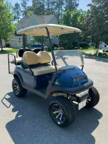 2015 Lifted Club Car Precedent 48 Volt Golf Cart - New: Vans