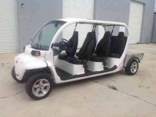 Gem Golf Cart >> 2015 Polaris Gem E6 Utility Lsv 6 Passenger Seat Golf Cart Street Legal Limo